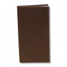 Телефонно-адресная книга 80х155, FLAMINGO, коричневый, ERICH KRAUSE