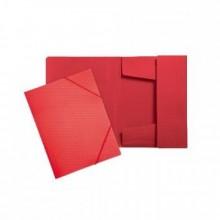 Папка на резинках, А4, DIAMOND, красный, ERICH KRAUSE