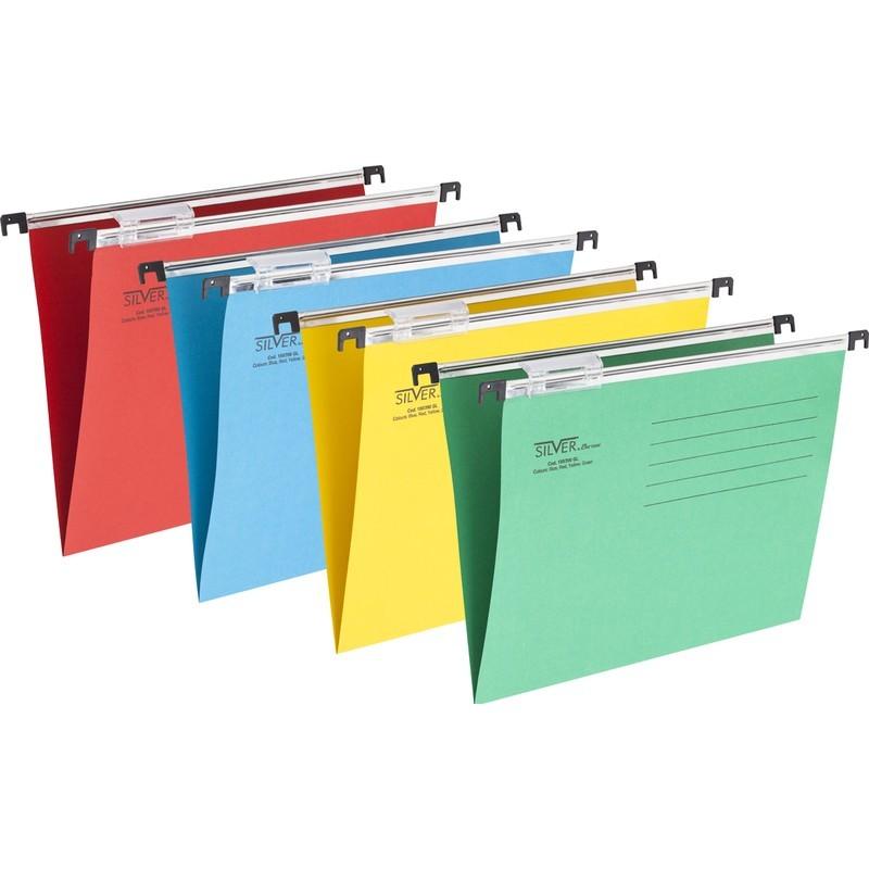 Папка подвесная А4 (Подвесной файл), асссорти, DELI