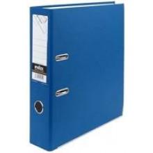 Регистратор, 8см, синий, А4, ПВХ - двустор., 1300 гр, метал. оконт., INDEX