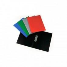 Папка с боковым зажимом А4, красная,  0,45мм