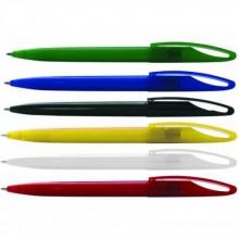 Ручка шариковая, синяя, 0,7 мм, автомат, корпус синий. SPONSOR