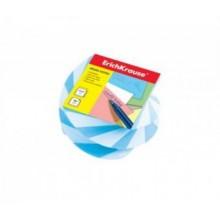 Блок бумаги для записи витой 5*6*4, голубой, ERICH KRAUSE