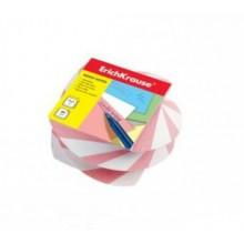 Блок бумаги для записи витой 5*6*4, персиковый, ERICH KRAUSE