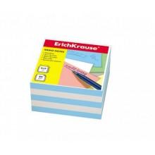 Блок бумаги для записи, 9*9*5, белый-голубой, ERICH KRAUSE