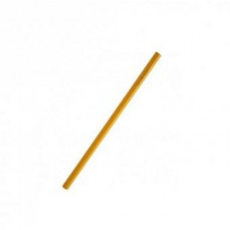 Карандаш простой НВ, без ластика, жёлтый корпус,  не заточенный, SPONSOR.