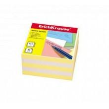 Блок бумаги для записи, 9*9*5, белый-желтый, ERICH KRAUSE