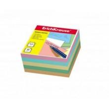 Блок бумаги для записи, 9*9*5, цветной, ERICH KRAUSE
