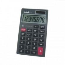 Калькулятор карманный, 8р, двойное питание, 111х65х9 мм