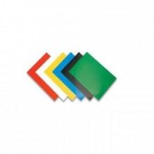 Обложки для переплета, А4, картон, цв. темно-зеленый, 100 лист,