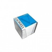 Блок бумаги для записи 9*9*9, белый, в пластбоксе, kris
