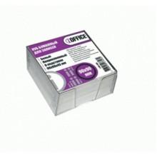Блок бумаги для записи 90*90*45, белый, в пластбоксе, PROFF