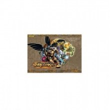 Альбом для рисования, 8л, Редакай, обложка цветной мелованный картон/на скобах/100 г/м2, PROFF