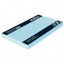 Постики  76х127 мм, 100лист, голубой