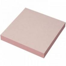 Постики  76х76 мм, 100лист, розовый.