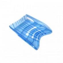 Лоток для бумаг, горизонтальный, S-WING, голубой, ERICH KRAUSE (снят с производства)