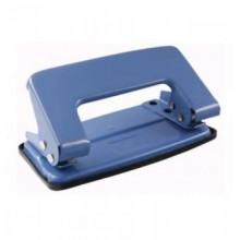 Дырокол на 10 листов, синий, металлический, PROFF