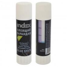Клей карандаш 21 грамм, INDEX