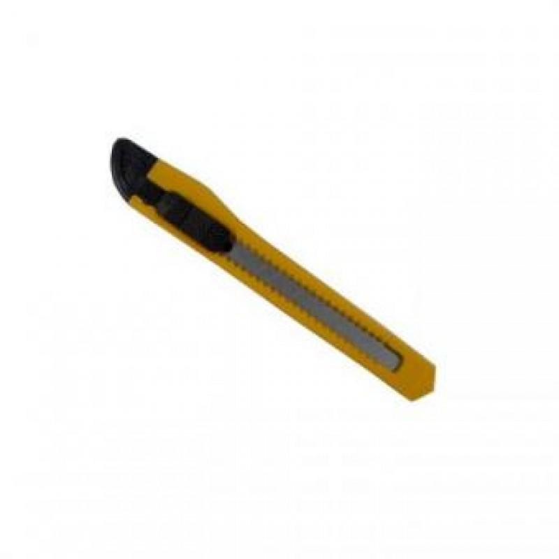 Нож канцелярский, 9мм, ассорти. SPONSOR