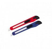 Нож канцелярский, 9мм, длина 80мм, пластиковый, цвет ассорти, DELI