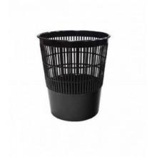 Корзина для мусора, 14л, сетчатая, чёрная