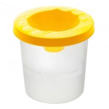 Стакан-непроливайка, жёлтый