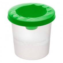 Стакан-непроливайка, зелёный