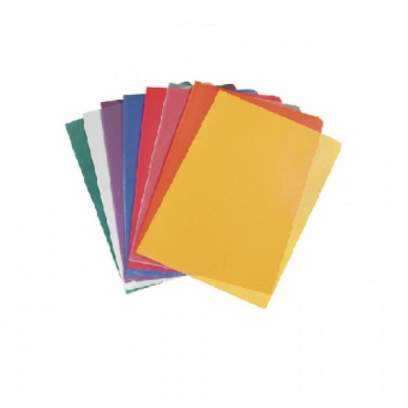 Уголок пластиковый, А4, L-LIFE, 1шт, жёлтый, ERICH KRAUSE