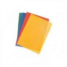 Уголок пластиковый, А4, L-LIFE, 1шт, красный, ERICH KRAUSE