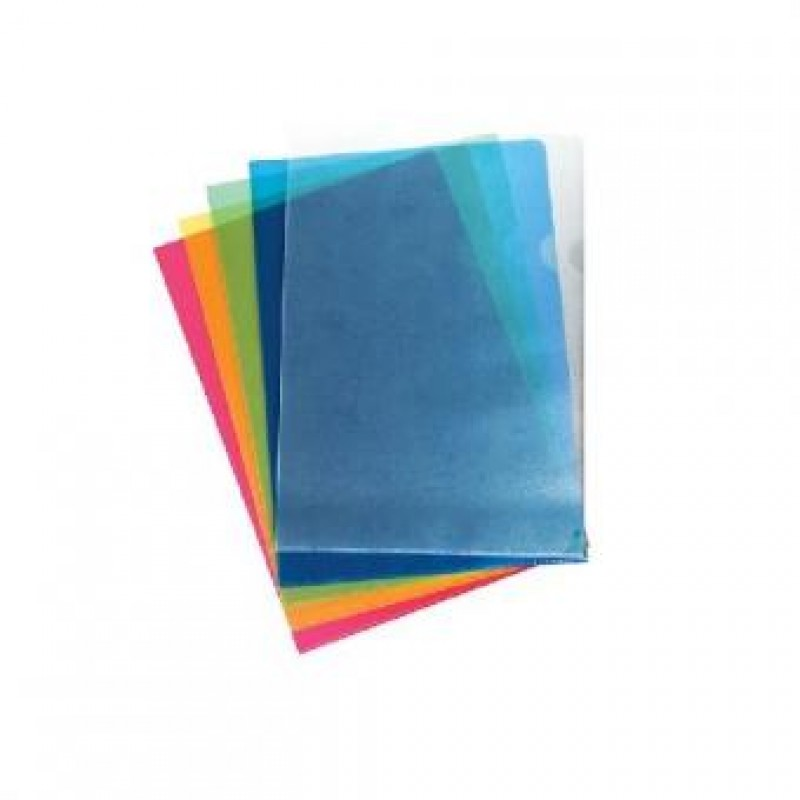 Уголок пластиковый, А4, L-LIFE, 1шт, синий, ERICH KRAUSE