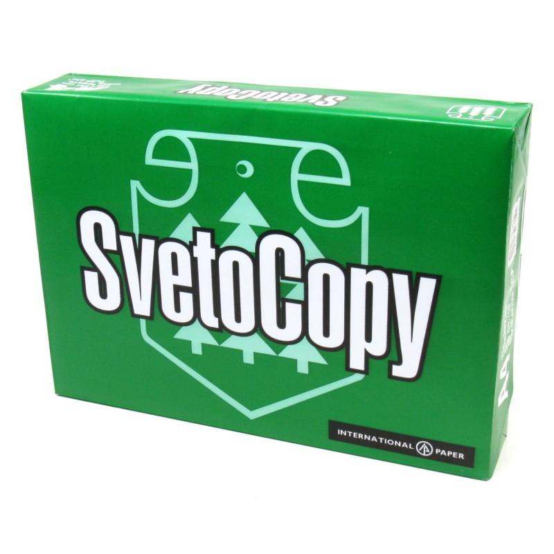 Бумага А4 SvetoCopy, 80г/м2, 96%, 500л