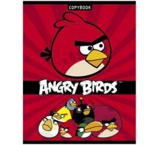 "Тетрадь 24л. клетка ""Angry Birds"""