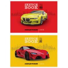"""Альбом для рисования 08л., А4, на скрепке ArtSpace """"Авто. Concept car"""""""