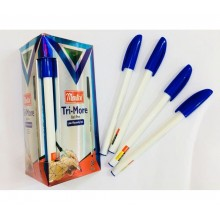 Ручка Tri-More, Montex, 1.0mm, синий, 1шт-40тг