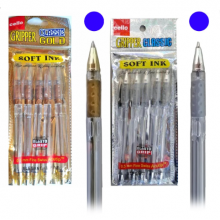 Ручка CELLO CLASSIK СЕРЕБРО / ЗОЛОТО, синий стержень.