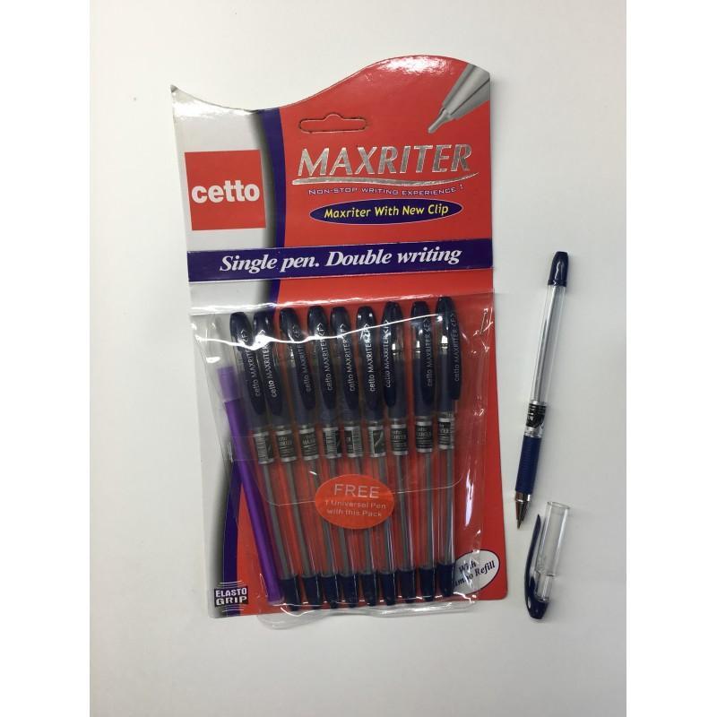 Ручка шариковая Cello Maxriter XS 0.7 мм.  синий